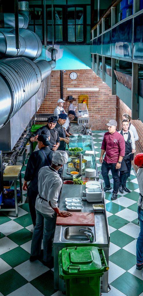 Cocina de El Biky. Foto: Izuky Pérez.
