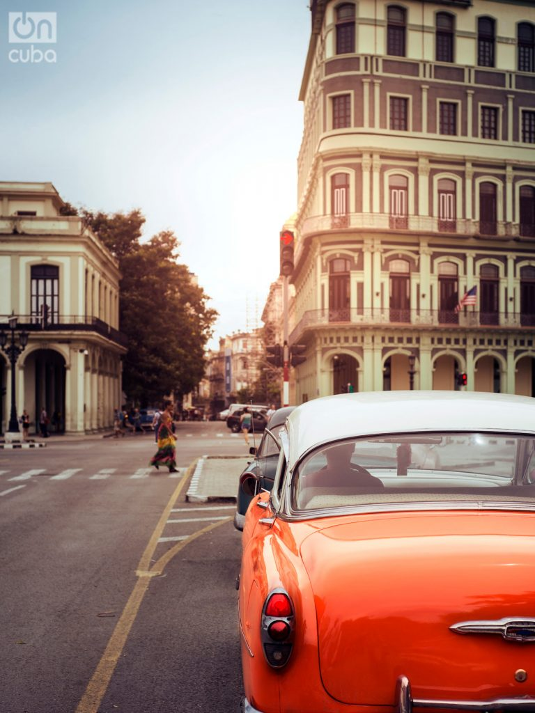 In Cuba, old American cars predominate. Photo: Jorge Luis Borges.