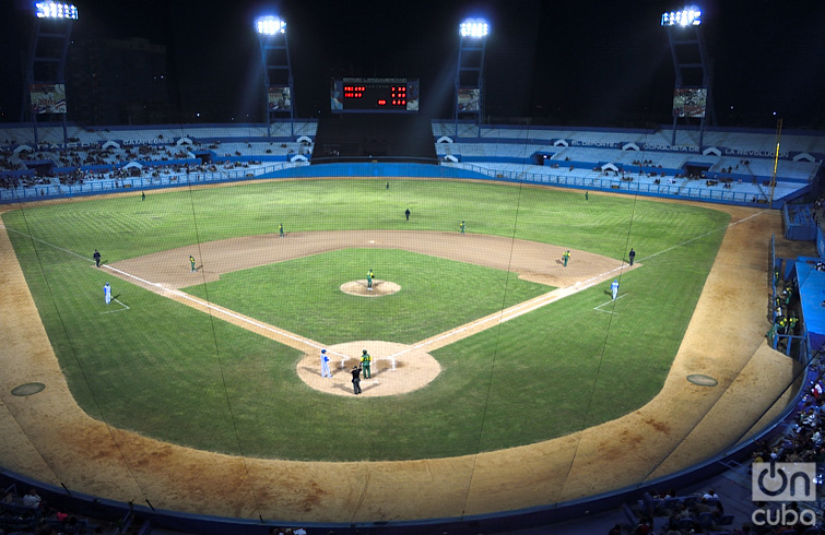 It was inaugurated in 1946, being named as Gran Stadium of Havana. Photo: Otmaro Rodríguez Díaz.