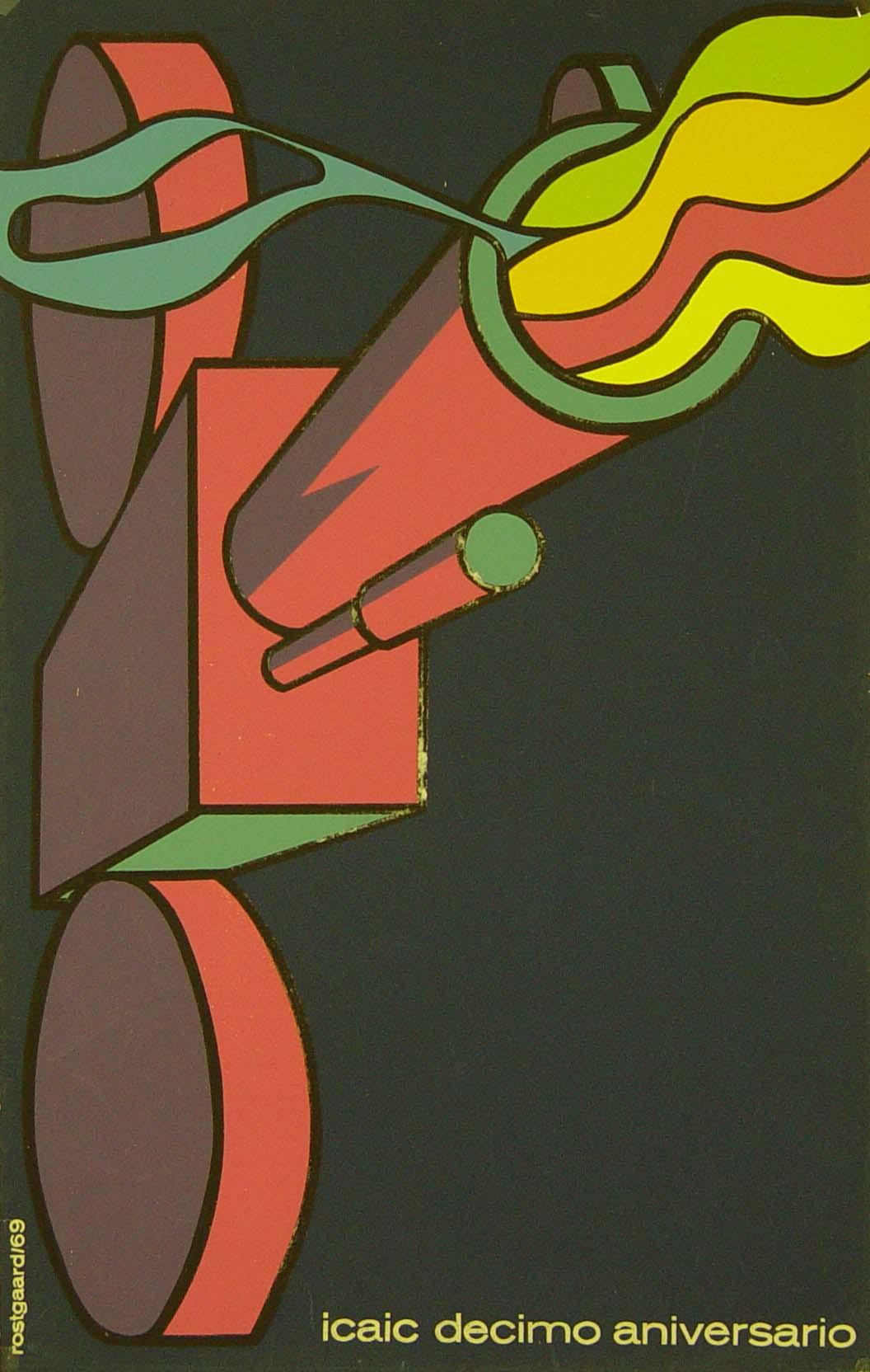 ICAIC Décimo Aniversario, Alfredo Rostgaard, 1969