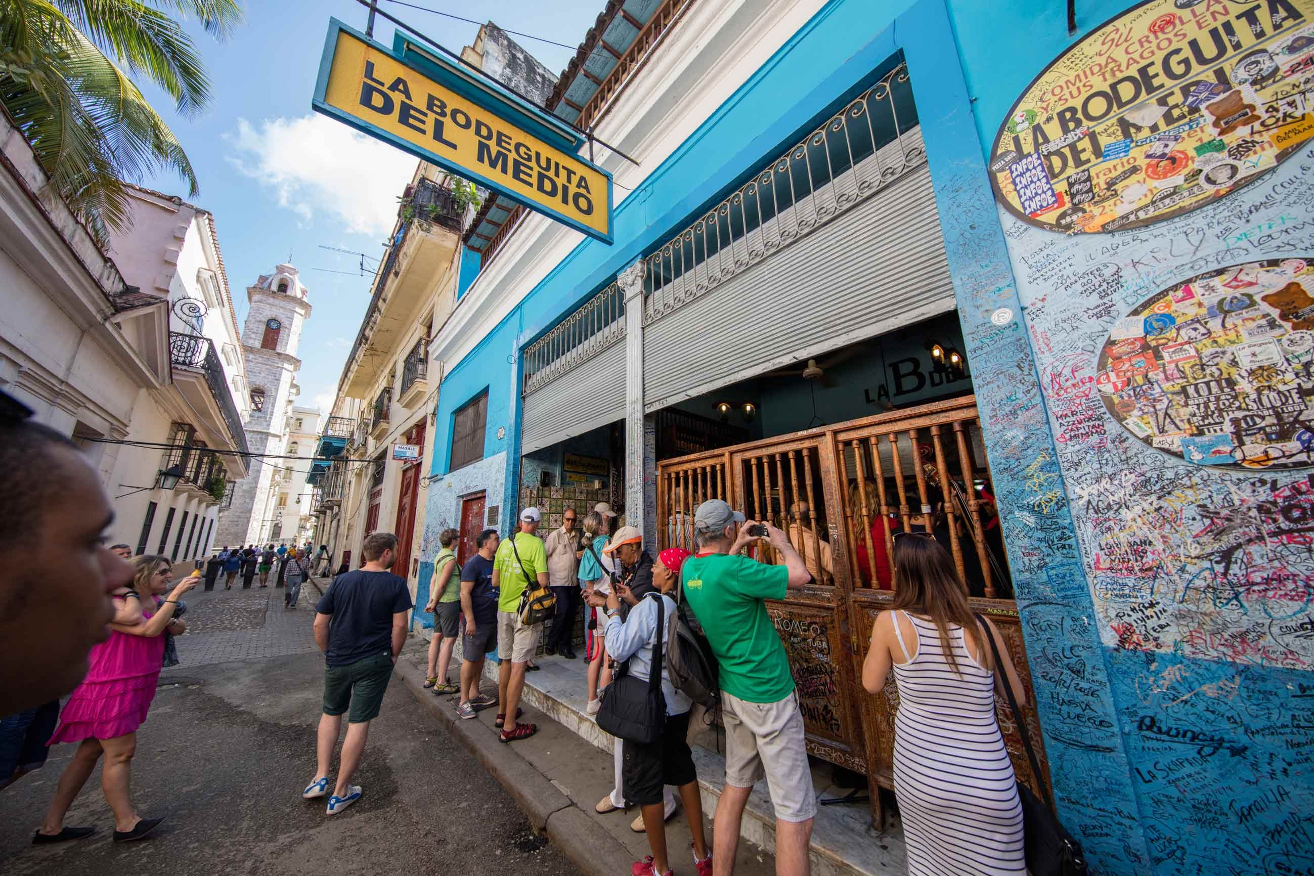 Following Hemingway's steps at Havana