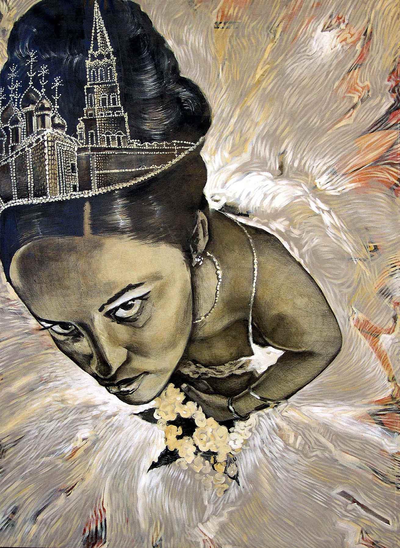 Gertrudis Rivalta (La Habana, 1971). 'Quinceañera con Kremlin' (2004)